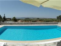 Private pool and view of countryside