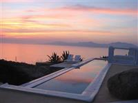 Sea Views from the Pool at Sunset