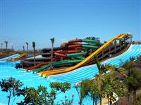 The Baku Water Park in Corralejo