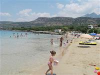 One of the beaches at Stoupa