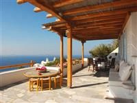 Enjoy private terrace with sea view and private barbecue area